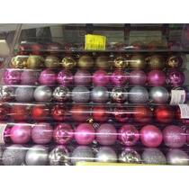 Bola De Natal 5 Cm Com 10 Peças