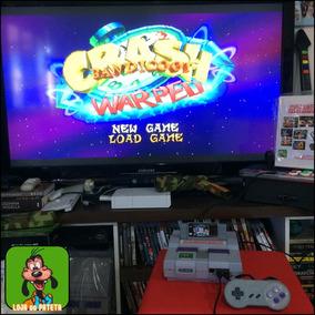 Super Nintendo Retro Multijogos + De 6400 Jogos 4 Controles