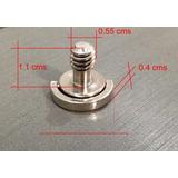 Tornillo D-ring 1/4 Corto Chancla Base Tripie Accesorio Dslr