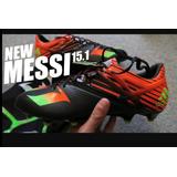 Tacos Botas Fútbol Originales adidas Leo Messi Adizero 15.1