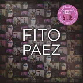 Fito Paez 5 Cds Giros, Del 63, Ciudad, Ey Y Cronica Box