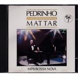 Pedrinho Mattar - Cd A Arte Do Piano Popular Vol 1- Seminovo