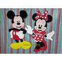 Figura Minnie O Mickey De Goma Eva Alto 80 Cm