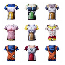 Camisa/camiseta Dragon Ball Z Piccolo Cell Goku Goten Vegeta