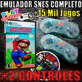 Emulador Super Nintendo + 2 Controle