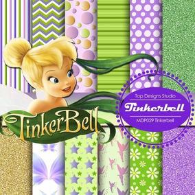 Scrap1real - Kit Scrapbook Digital Tinkerbell Sininho 1