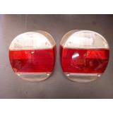 Micas Calavera Vw Sedan 74-04 Rojo Cristal Par Vocho Autos