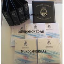 Albumes De Monedas Argentinas Vk, Tomos 1 + 2 + 3