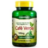 Café Verde - Maxinutri - 60 Cápsulas # Redução De Peso