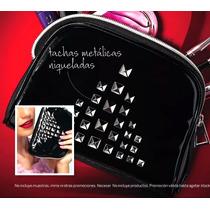 Portacosmeticos Neceser Esika Charol Color Negro Bazar Ceci
