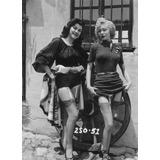 Foto - Retro Semi Desnudo Chica Pin-up - 13x18 - #9613