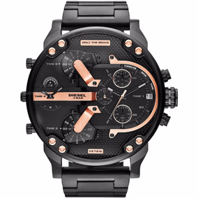 Relógio Diesel Dz7312 Preto Original 57mm Garantia 3 Anos