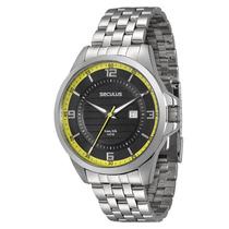 Relógio Seculus Masculino Long Life 28360g0sgna1 Novo