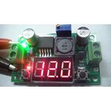 Regulador Tensao Lm2596 Com Display 4,5-35v P/ 1,25-30v