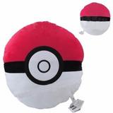 Travesseiro Almofada Pokemon Pokebola Pelucia Frete Gratis!