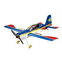 Aeromodelo Aviao Acrobatico Yak 54 Controle Remoto 2.4ghz