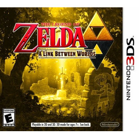 Videojuego Legend Of Zelda: Link Between Worlds Nintendo 3ds