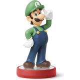 Figura Amiibo Luigi Serie Super Mario Bros Nintendo Wii U