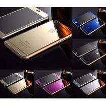 Cristal Templado Color Espejo Para Iphone 5 Y 5s