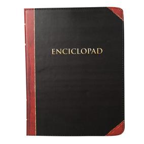 Capa Case Ipad Tablet Smart Livro Book Retro Enciclopad