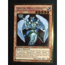 Yugioh Celestia Lightsworn Angel Gold Pgld-sp087