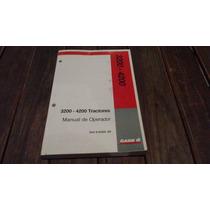 Manual Del Operador Tractores Case Ih 3200 - 4200