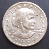 Moneda Usa 1979 One Dollar Susan B. Antony