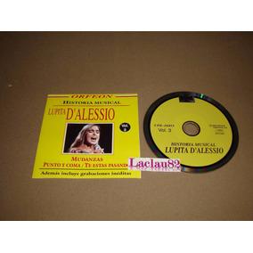 Lupita D´alessio Historia Musical 2004 Orfeon Cd