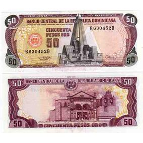 Billete Dominicana 50 Pesos Año 1994 Pick 135 Sin Circular