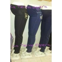 Embarazo Embarazada Maternidad Pantalón Jeans Mezclilla