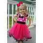 Vestido Disfraz Minnie Tul