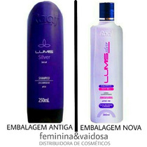 Shampoo Roxo Lumis Silver Raaf 300ml