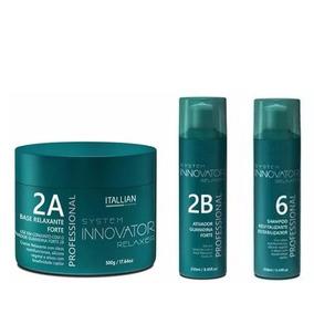 Base Relaxante 2a + Guanidina Forte 2b + Innovator Nº6 240ml