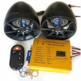 Parlante De Moto Mp3 Usb Sd Y Alarma Sensor De Movimiento