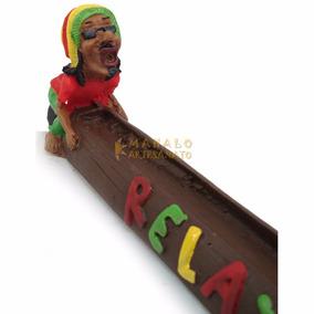 Incensário Bob Marley Pensador Incenso Aromatizador Reggae