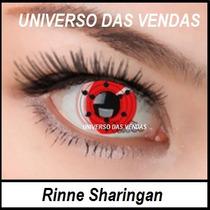 Lentes Naruto Cosplay De Contato Rinne Sharingan Rinnegan