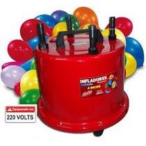 Inflador Balões 4 Bicos Profissional 1300 Watts 220.volts