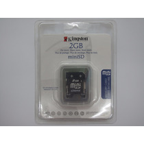 Memoria Mini Sd Kingston 2gb