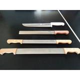 Combo Cuchillos Queseros Y Charcuteros Multiusos 4 Piezas