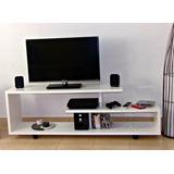 Mesa De Tv Lcd - Smart Espesor 18mm 1.10 Largo, 58 Alto