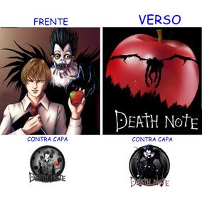 Caderno Death Note Novo- 10 Materias - 200 Folhas Mod 01