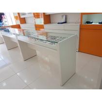 Mesa Para Óticas Fabricamos 100% Com Vidros E Gaveteirro