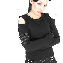 Blusa Goth Rock Punk