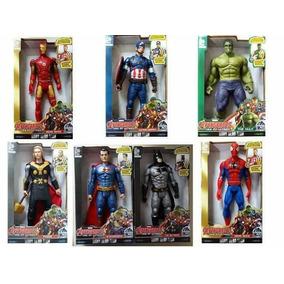 Bonecos Vingadores Marvel Heróis Avengers 30 Cm Unidade