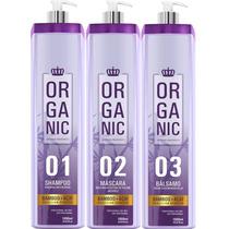 Mundo Organico Reduce 0%formol Escova Progressiva 3 Passos