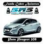 Funda Cubre Asientos De Cuero Ecológico Para Peugeot 208