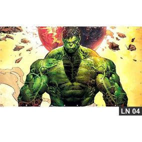 Hulk Vingadores Painel 2,00x1,00 Lona Festa Aniversários