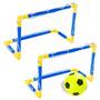 2 Traves Mini Gol Futebol Praia Campo Bola Rede B. Ar 488100
