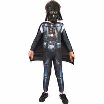 Fantasia Darth Vader Star Wars Infantil Original Rubies