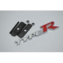 Emblema Grade Honda Type R Civic Si Vtec Hrv City Fit Accord